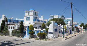 Ialyssos gresk bygning