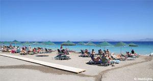 Ialyssos strand Rhodos