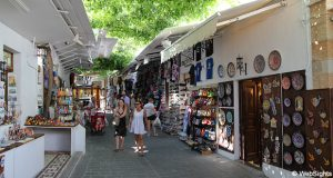 Lindos gamle by