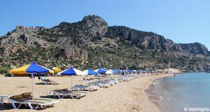 Tsambika strand
